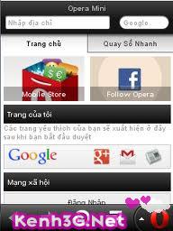 Tải Opera Mini 7.1 Tiếng Việt